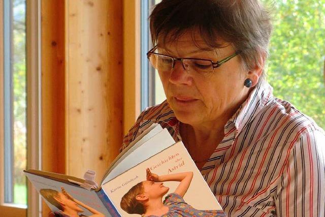 Eine spannende Stunde mit Karin Gündisch
