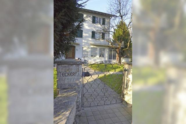 Villa Eckert muss verkleinern