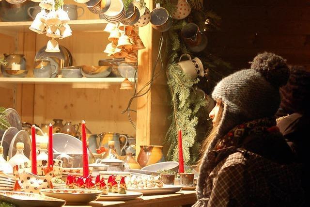 Am Nikolaustag öffnet der Weihnachtsmarkt