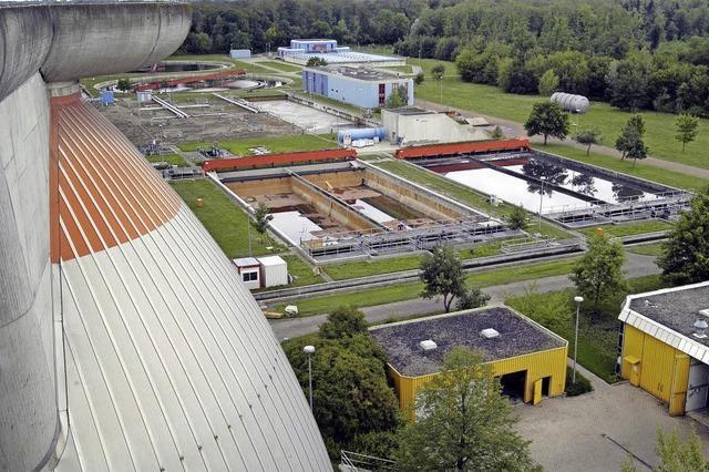 Hohe Investition: Kläranlage Breisgauer Bucht wird erweitert