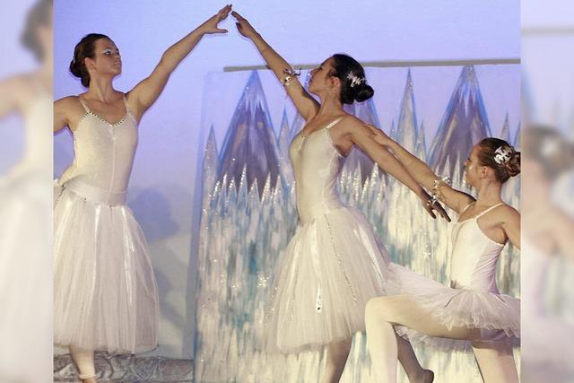 Eine märchenhaft anmutende Ballettaufführung