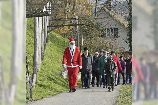 Der Nikolaus geht voraus