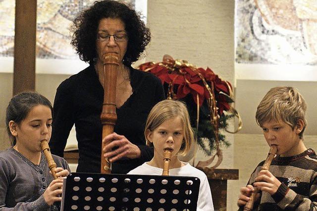 Musikschule erzeugt eine besinnliche Ruhe