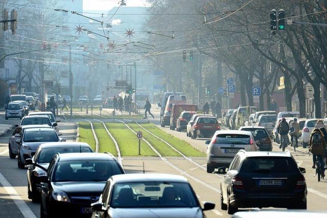 Gutachten: Freiburger Verkehrsprobleme sind überschaubar