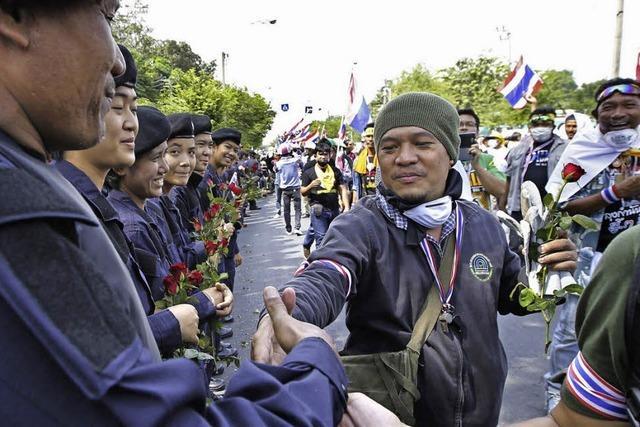 Plötzlicher Frieden in Bangkok