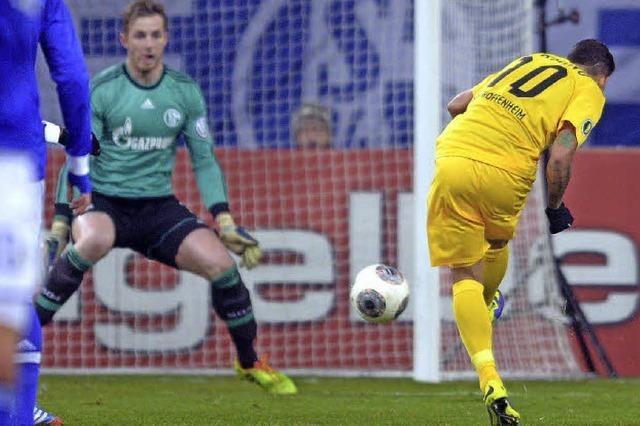 Hoffenheim düpiert Schalke 04 und steht im Viertelfinale