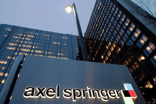Kartellamt billigt Verkauf von Springer-Blättern