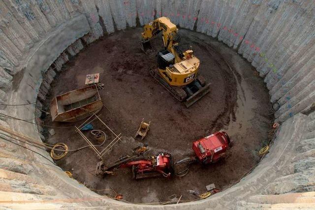 Baustart für den ersten Tunnel von Stuttgart 21