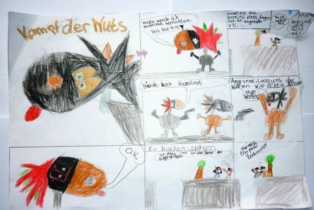 Comic: Kampf der Nuts