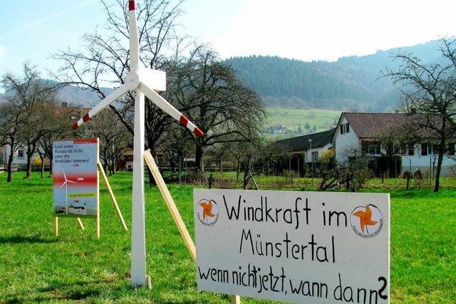 Studienarbeit im Münstertal: Verjagen Windräder Touristen?