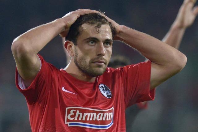 Aus im Achtelfinale: Freiburg verliert gegen Leverkusen 1:2
