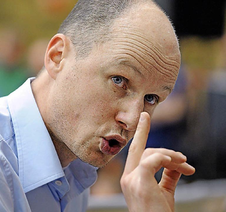 Harald Janson übernimmt.  | Foto: Patrick Seeger