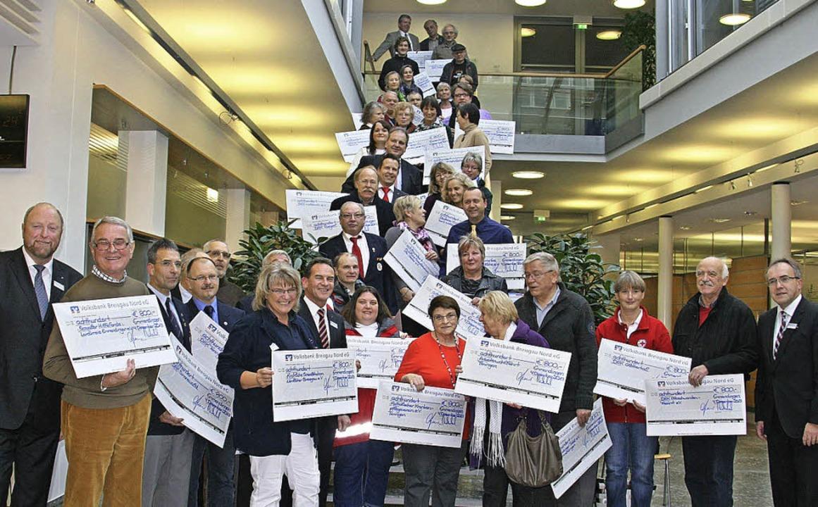 Noch einmal 34 400 Euro wurden von der...etrag 2013 auf insgesamt 220 000 Euro.  | Foto: Gerda Oswald