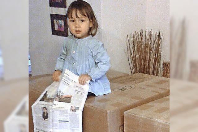 Zehn Pakete für die Philippinen