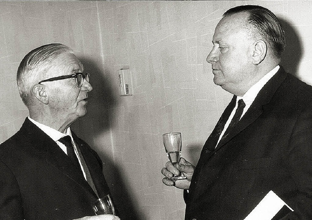Ratsmitglied und Ehrenbürger Ernst Sch...einem Verkehrsunfall am 2. Juli 1966.   | Foto: Privat