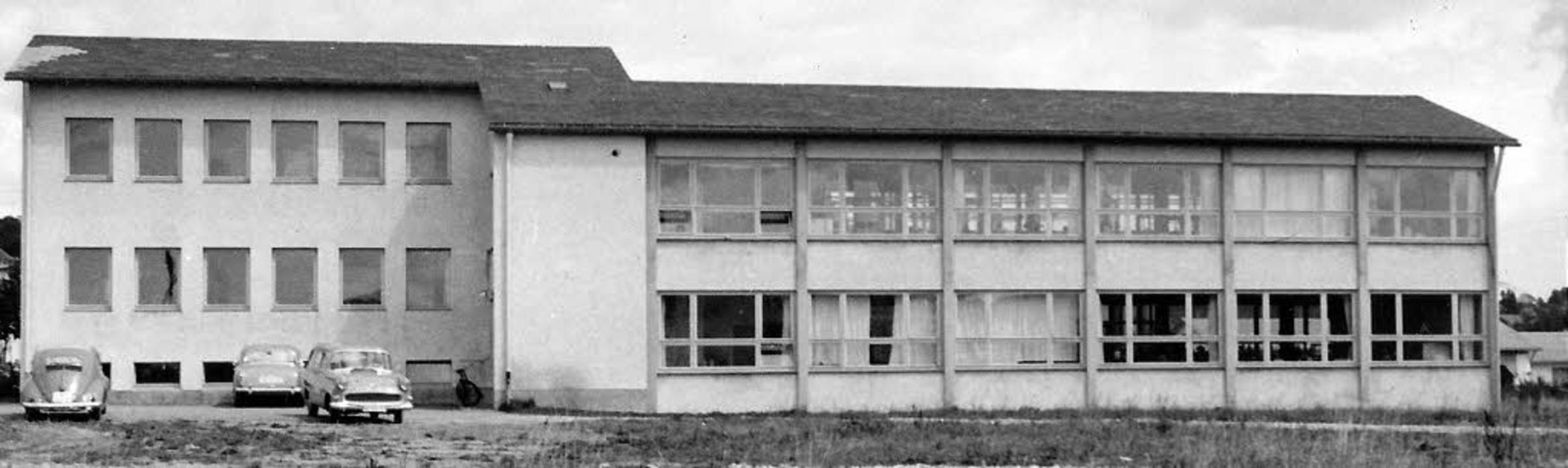 Der erste Bauabschnitt des Betriebs- u...hme dürfte aus dem Jahr  1956 stammen.  | Foto: Privat
