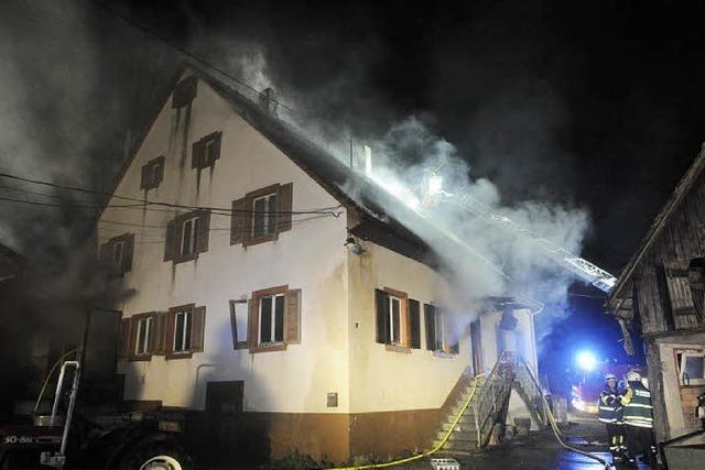 Zimmer sofort in Flammen