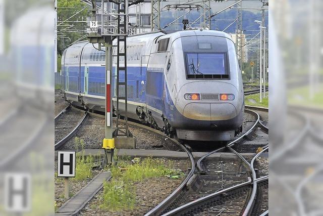 TGV-Passagiere stranden in Mulhouse