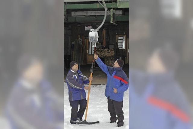 Skisaison auf dem Feldberg wird mit einer Party eröffnet