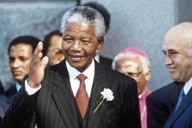 Nelson Mandela: Ein Halbgott, der keiner sein wollte