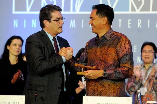 160 Länder schließen Abkommen zum Welthandel