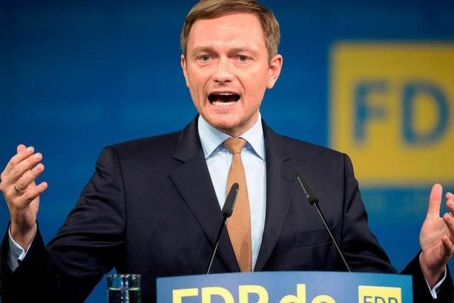 FDP will mit Lindner das Comeback schaffen