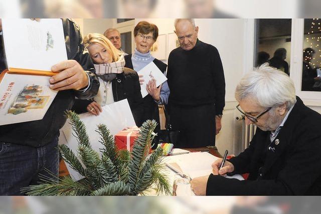 Peter Gaymann signiert im Markgräfler Museum