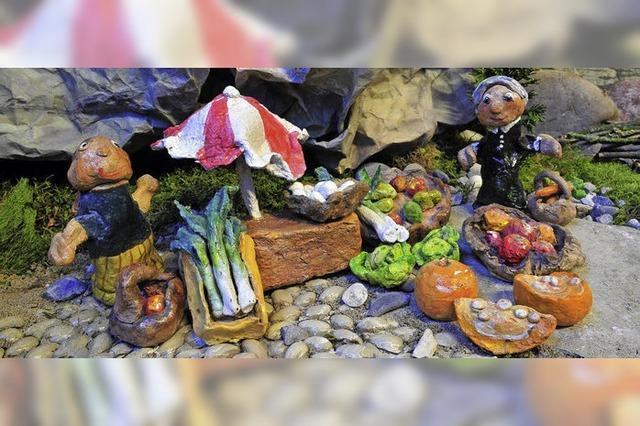 Gabriele Jüngling-Follmann hütet an der Mühlmattenschule ein Kunstwerk