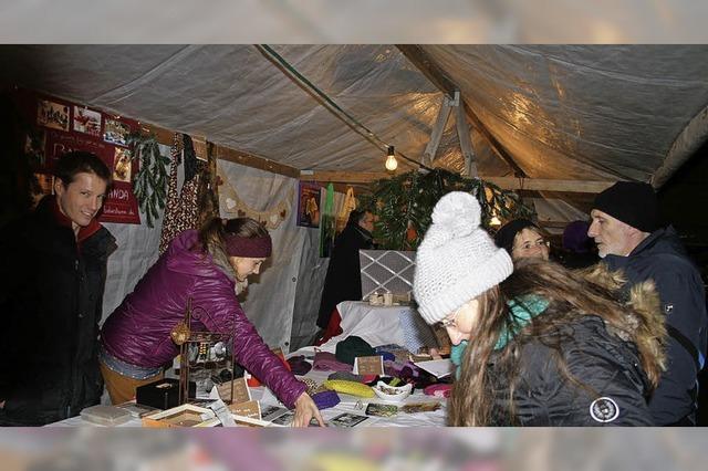 Weihnachtsmarkt wird zum Publikumsmagnet