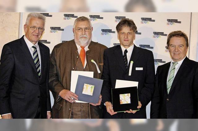 Ehrenpreis fürs Öko-Projekt