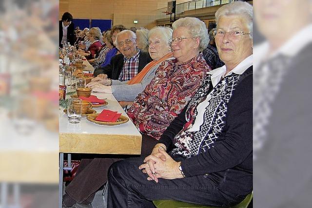 Geselliger Nachmittag für die Senioren