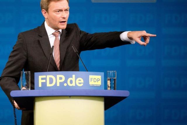 Die FDP rechnet mit sich selber ab – Lindner neuer Chef