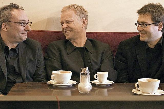 Jazz-Trio Pöhlmann, Hagenlocher, Rädle in der Käppele-Scheune