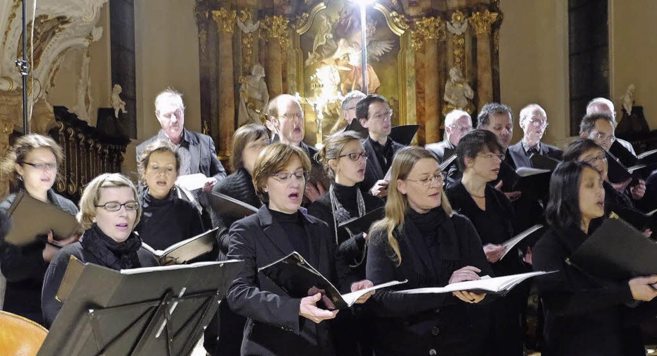 Der Freiburger Kammerchor bewies in der Riegeler Kirche Vielseitigkeit.  | Foto: Christel Hülter-Hassler