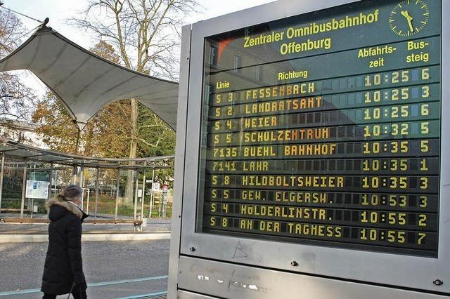 Wissen, wann genau der Bus kommt