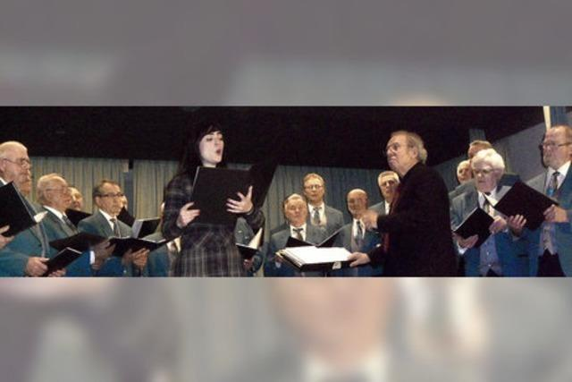 Sänger und Solistin ergänzen sich glänzend