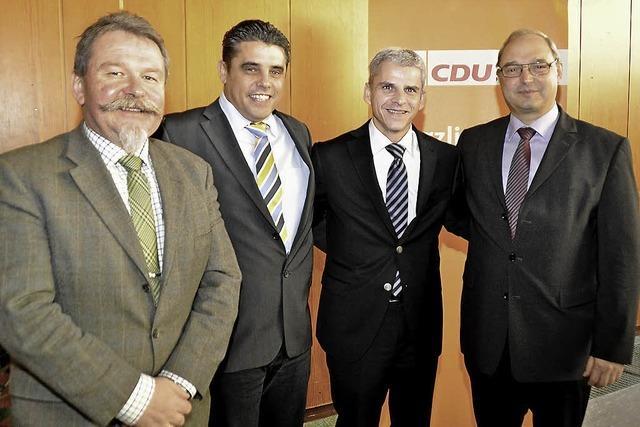 CDU-Kreisparteitag - von Querelen ist nichts zu spüren