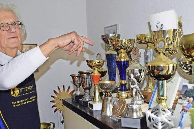 Horst Schulze vom SV Kirchzarten: Solange es geht, will er rennen