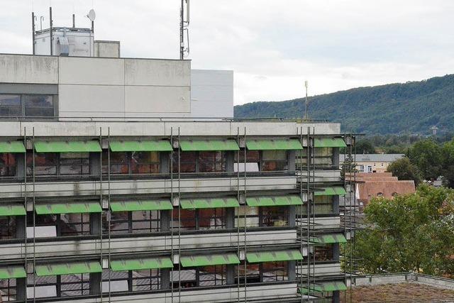 Rathaus-Sanierung geht weiter - als nächstes kommt die Fassade dran