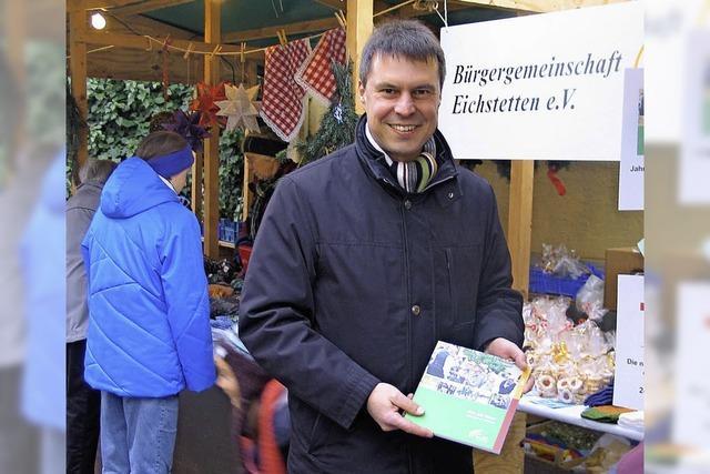 Rückblick wagen auf dem Adventsmarkt
