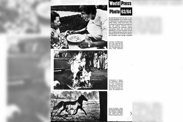 So schoss der Emmendinger Peter Thomann 1963 ein preisgekröntes Foto