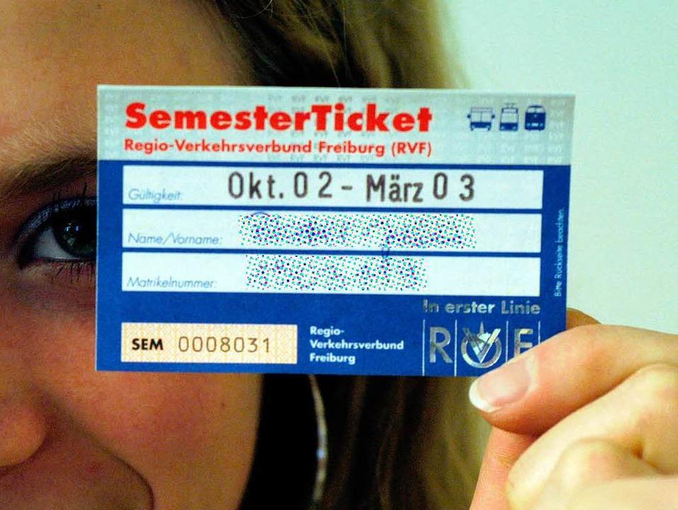In Freiburg gibt's das Semestert...ch ist es nach wie vor Zukunftsmusik.   | Foto: Archivfoto Ingo Schneider