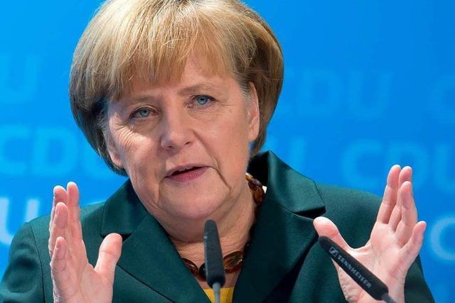 Wie Angela Merkel ihre CDU in die Große Koalition führt