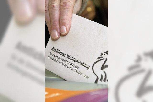 Sieben Pfarrgemeinden wählen 54 Kirchenälteste
