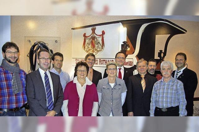 Sieben Jubilare und 205 Jahre Betriebszugehörigkeit bei Rothaus