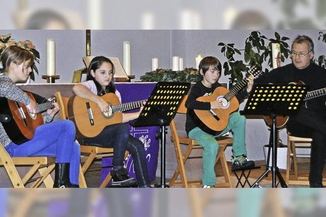Viel Applaus für die jungen Musiker