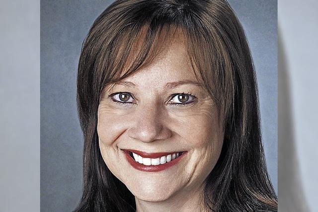 Erste Frau am Steuer von General Motors