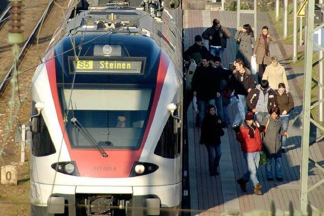 S-Bahn hält in der Weiler Gartenstadt nur noch bei Bedarf