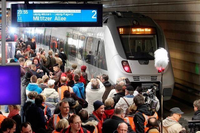 Zu spät, zu teuer – doch jetzt ist der Citytunnel fertig
