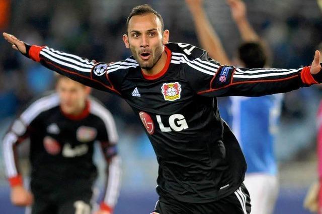 Ömer Toprak schießt Bayer Leverkusen ins Achtelfinale